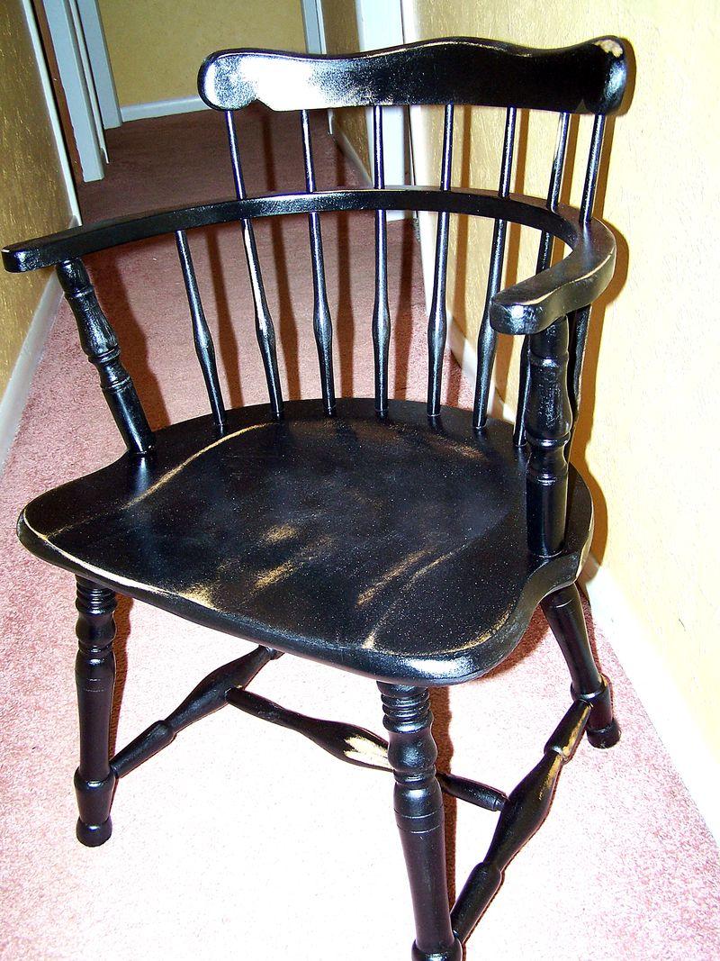 Black chair1